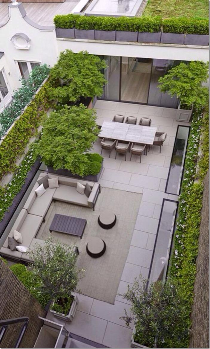 Architectural Garden Path