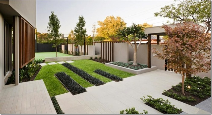 To optimise the relationship between building and front garden space