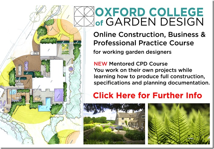 CPD course for prefessional garden designer