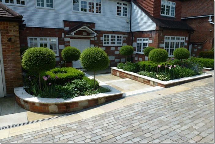 Front Garden Ideas: Formal garden