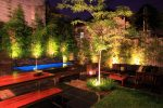 OUTSIDE LIGHTS: HOW TO DESIGN A GARDEN LIGHTING SCHEME