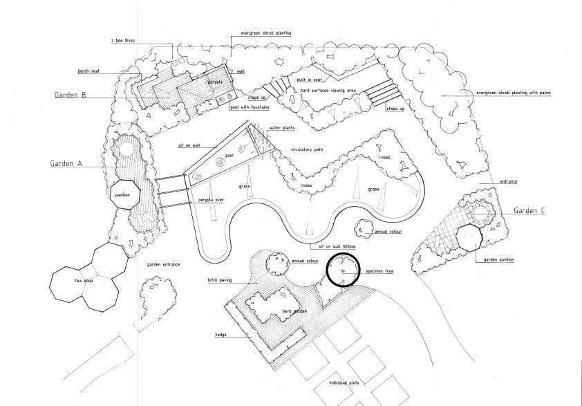 John Brookes MBE 1933-12018 - Oxford College of Garden Design
