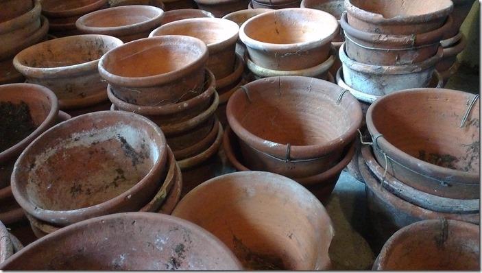 Victorial Plant pots